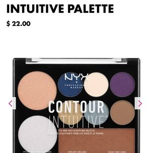 NYX Contour Intuitive Palette-Jewel 💎Queen 👸🏼